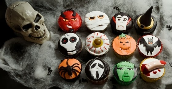 spooky halloween cupcake decorations_8 - Scary Halloween Cupcake Ideas