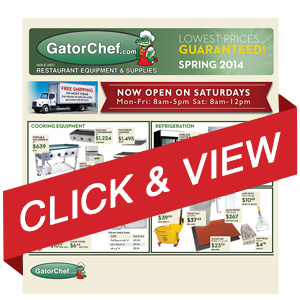 Gator Chef Restaurant Supply 2014 Catalog Preview - Bakeware
