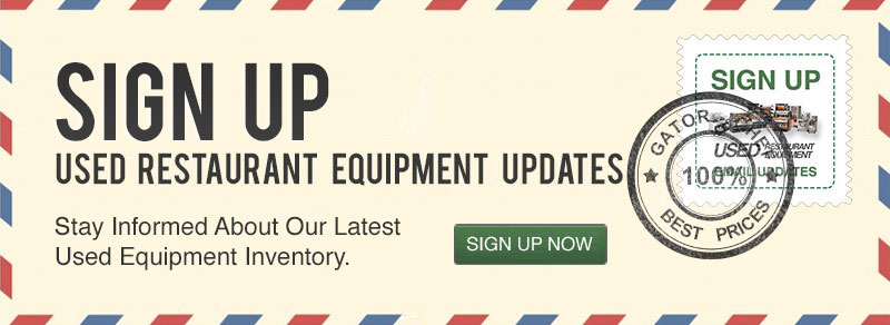 Used Equipment Sign Up
